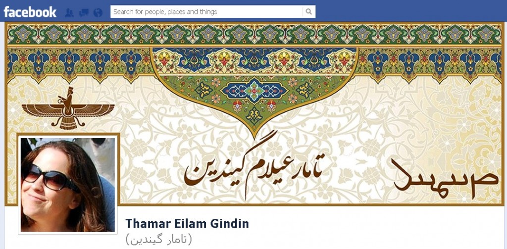 Thamar E. Gindin, Facebook cover image screenshot