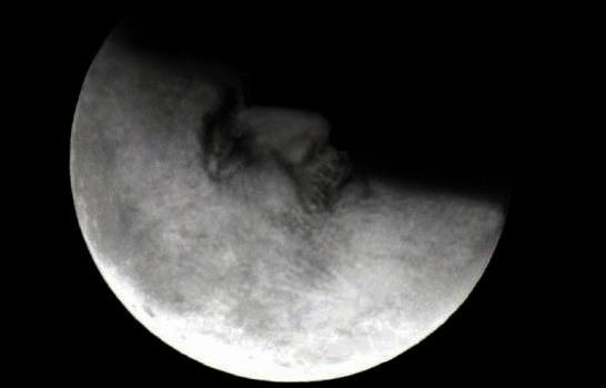 Chomejni in the moon